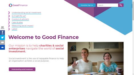 Good Finance Website