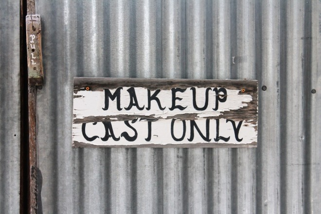Makeup Theater Cosmetics Backstage Stage Door